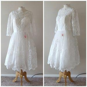 Chi Chi London | NWT White Lace Wedding Dress